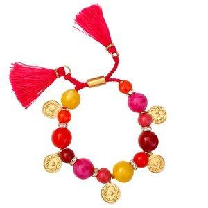 Kate Spade Pretty Poms Tassel Bracelet